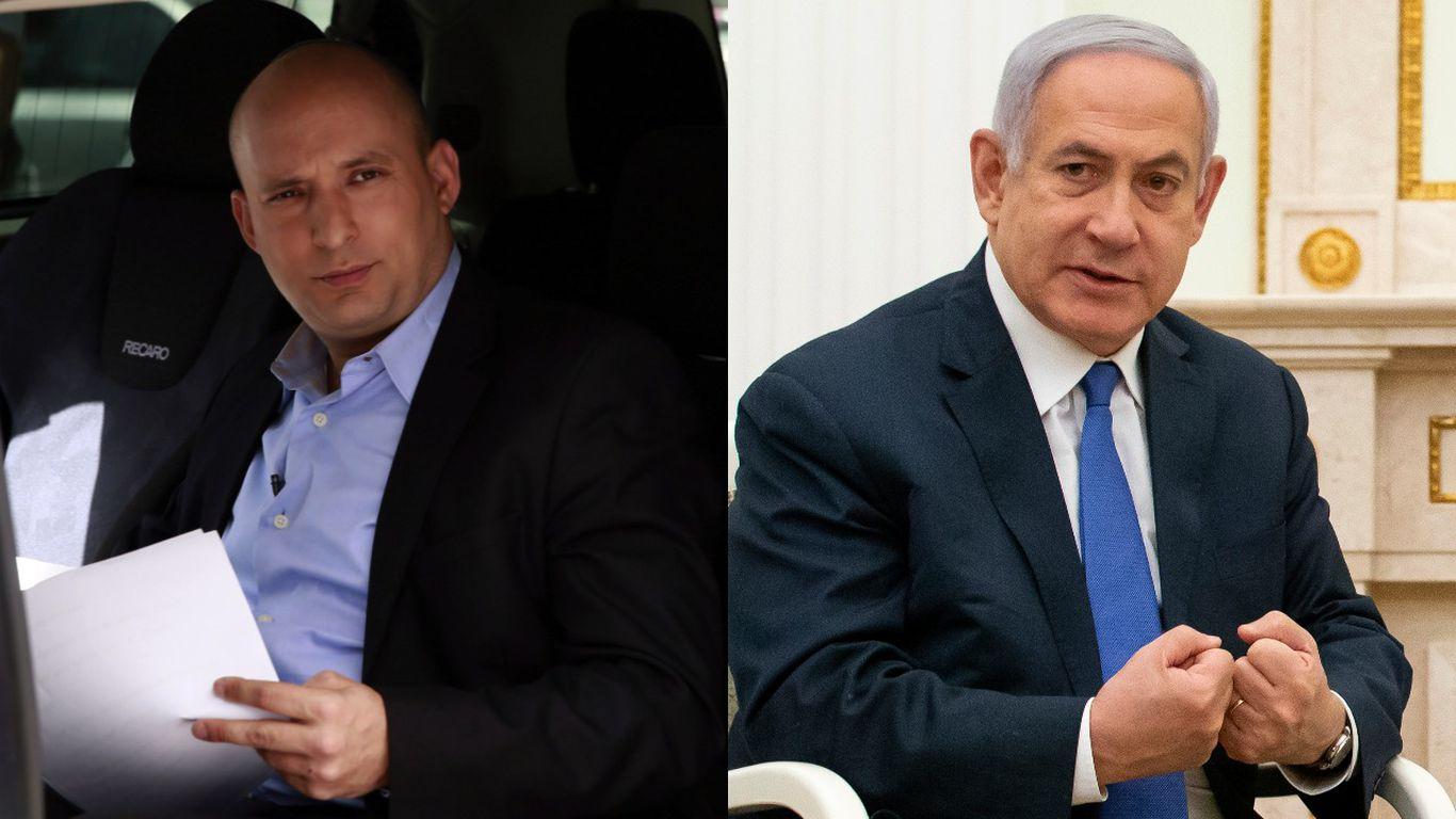 """Bennett ha detto ai membri del partito che si sta muovendo verso un """"cambio di governo"""" che rovesci Netanyahu"""
