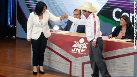 I candidati si sono confrontati il 30 maggio ad Arequipa.