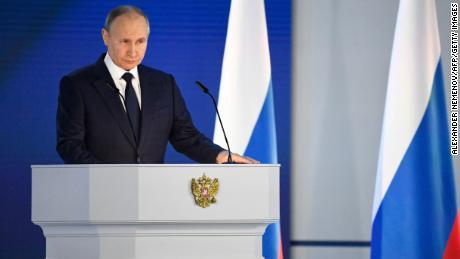 Il 21 aprile a Mosca il presidente russo Vladimir Putin tiene il suo discorso annuale sullo stato della nazione.