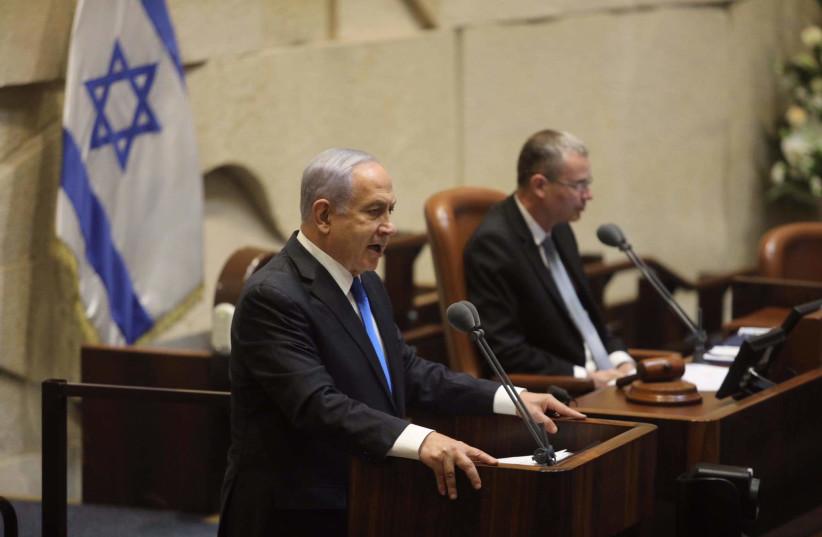 """Netanyahu nel suo ultimo discorso alla Knesset da primo ministro: Abbatteremo un """"governo pericoloso"""""""